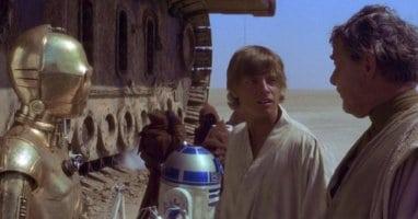 star wars a new hope luke skywalker tosche station scene