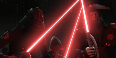 star wars rebels inquisitors with lightsabers