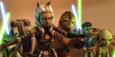 star wars the clone wars creche and burn ahsoka with younglings