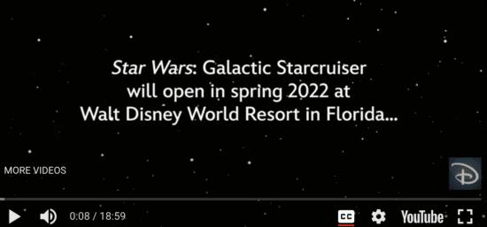 starcruiser opening date screenshot