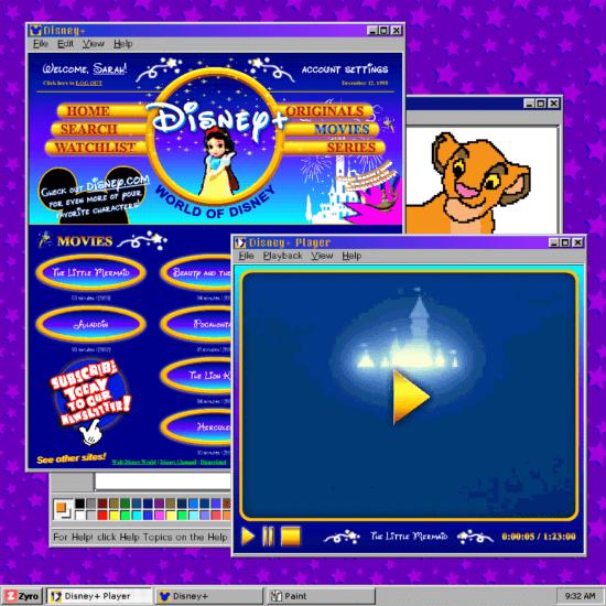 Disney+ 90s