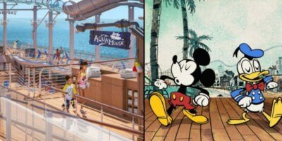 Disney Wish Upper Deck Quick Service
