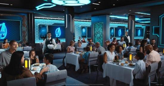 worlds of marvel disney wish restaurant