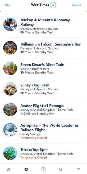 My Disney Experince App
