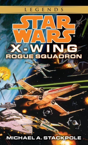 x wing rogue squadron book cover