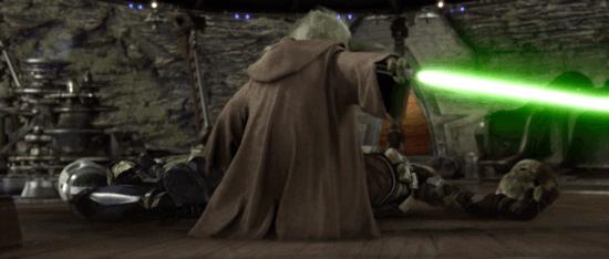 yoda the battle of kashyyyk