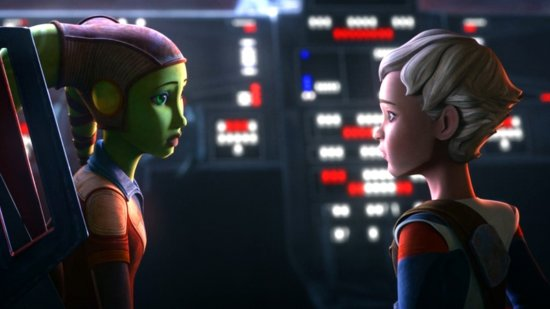 young hera syndulla (left) with omega (right)