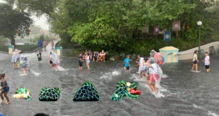 magic kingdom flood cavalcade