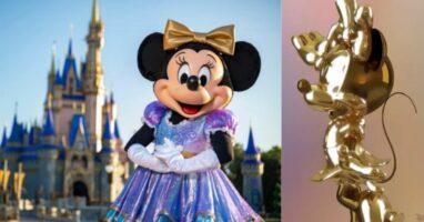Minnie Mouse Walt disney world 50th