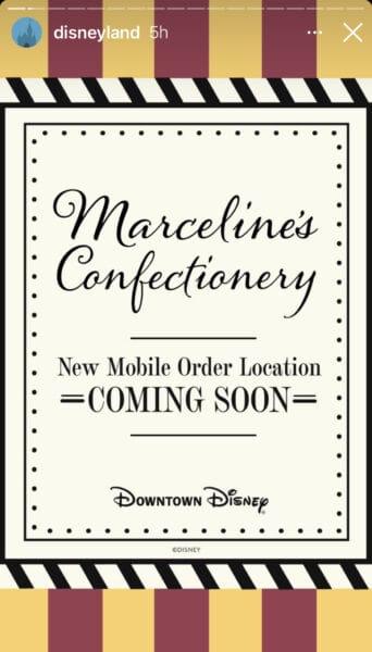 Mobile order expands at disneyland resort