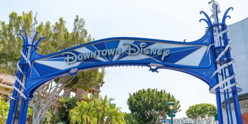 downtown disney at the disneyland resort