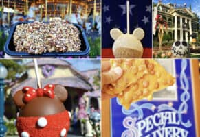 Sweet treats at the disneyland resort
