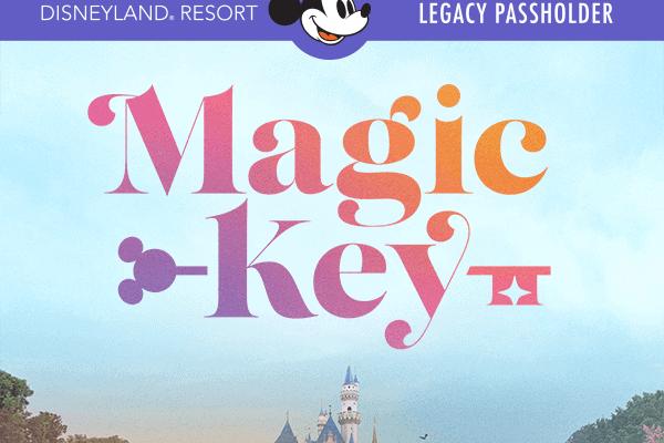 Disneyland resort magic key program