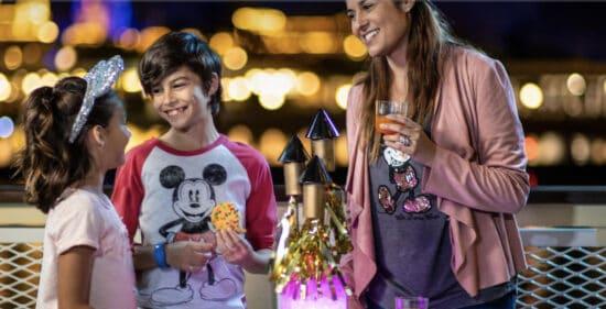 Ferrytale fireworks dessert cruise magic kingdom