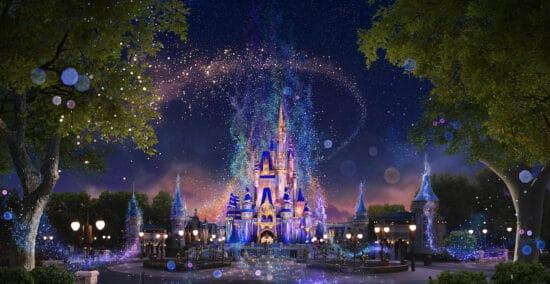 beacons of magic cinderella castle