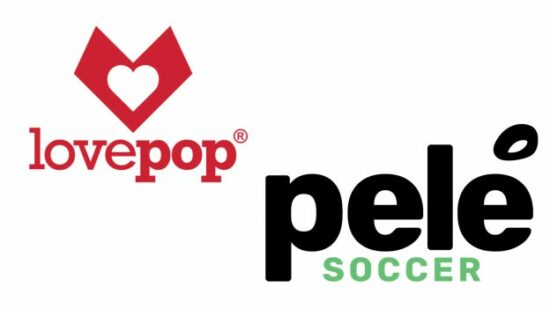 lovepop and pele soccer