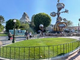 Tomorrowland entrance reimagining at disneyland
