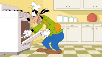 How to stay at home with goofy