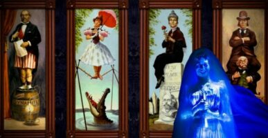 Haunted mansion characters