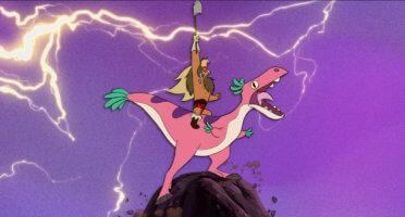 Dinosaur barbarian short circuit disney plus