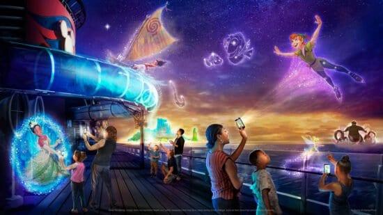 Disney uncharted adventure Disney cruise line