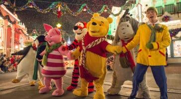 christmas parade disney world