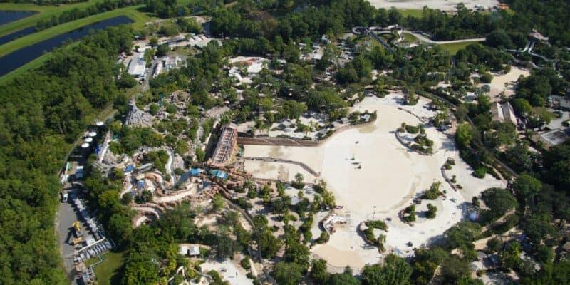 aerial photo typhoon lagoon