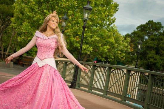 princess aurora epcot