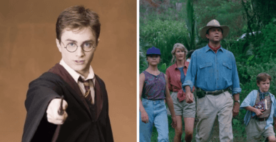 Harry Potter/Jurassic Park