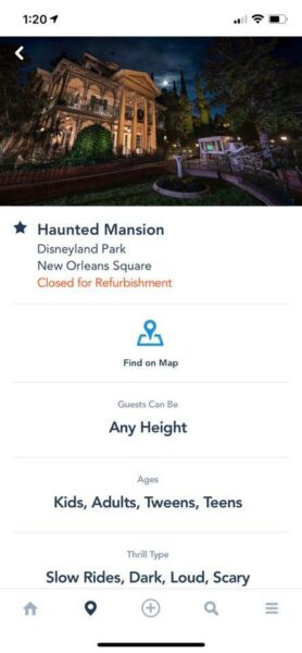 Haunted Mansion DL Closed