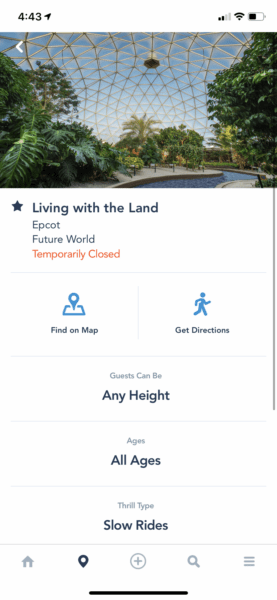 living with the land my disney experience