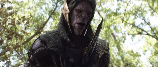 Michael Shaw as Corvus Glaive Marvel Avengers Infinity War Black Order