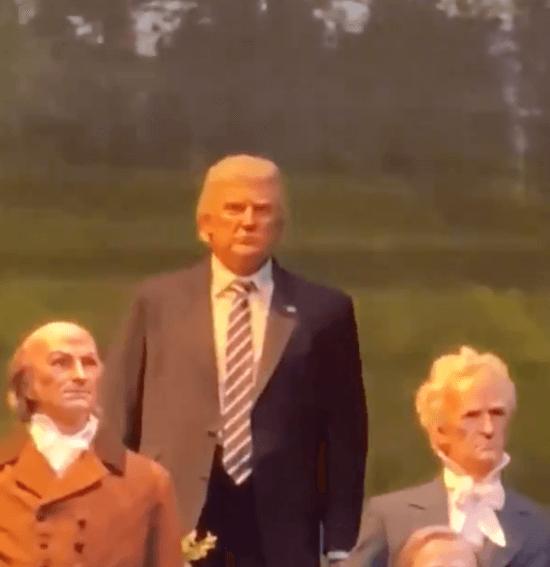 trump animatronic hall of presidents