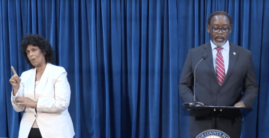Jerry Demings Press Conference