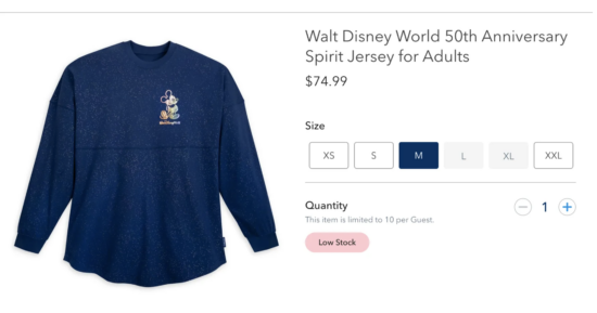 disney world 50th spirit jersey shopdisney