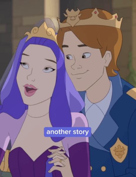 mal and ben the royal wedding hints at descendants 5