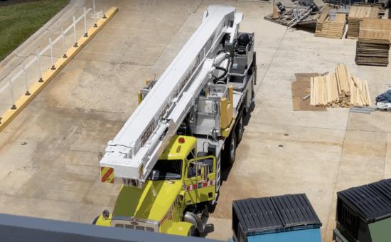 reedy creek fire deparment helps monorail