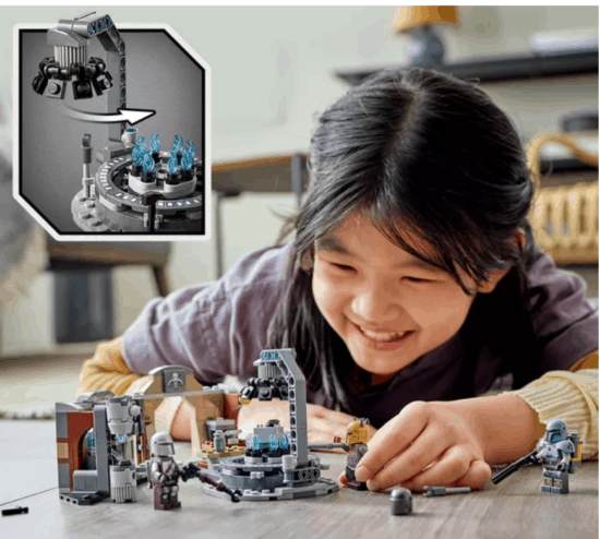 The Mandalorian LEGO Star Wars forge