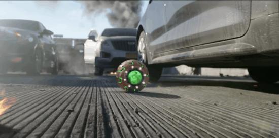 "Green Goblin's bomb in ""No Way Home"" trailer"