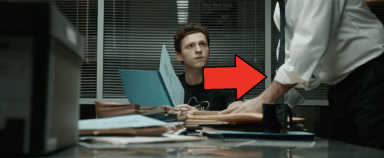 """Tom Holland as Peter Parker in """"Spider-Man: No Way Home"""" trailer"""
