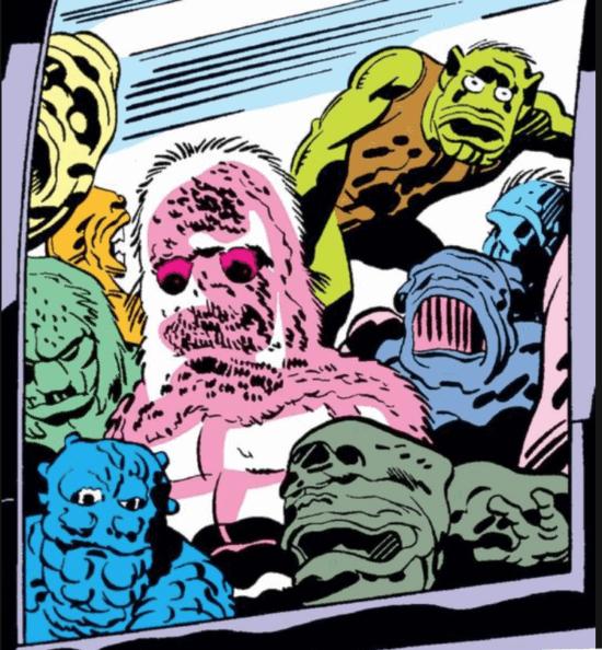 Marvel Comics Deviants