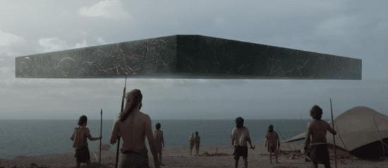Eternals ship approaching humans