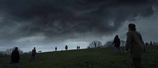 Cloud descending over the eternals