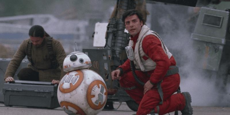Poe Dameron and BB-8