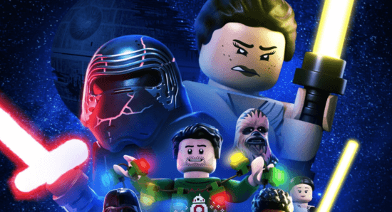 Star Wars holiday Special LEGO poster