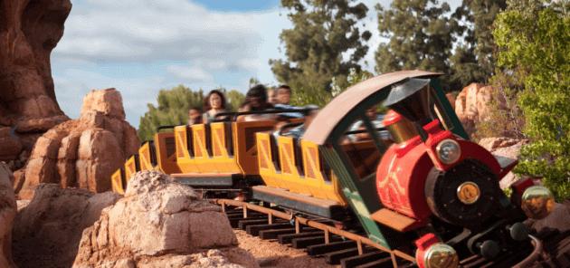 Big thunder Mountain train