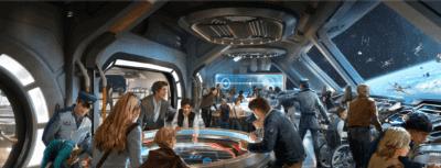 Galactic Starcruiser concept art