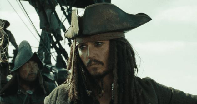Johnny Depp as Captain Jack Sparrow