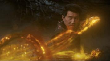 Shang-Chi using his powers