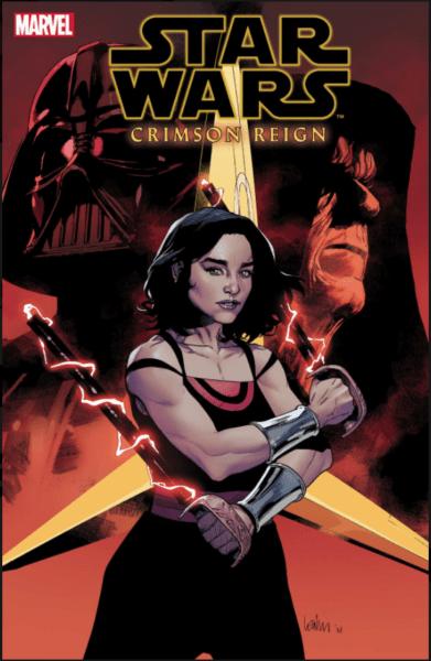 Crimson Reign comic book cover